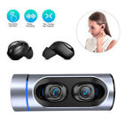 Twins Bluetooth Earphones HD Voice Headset Noise Reduction for iPhone Samsung LG