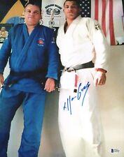 Allan Goes Signed 11x14 Photo BAS COA UFC Jiu-Jitsu Picture w/ Carlson Gracie 17