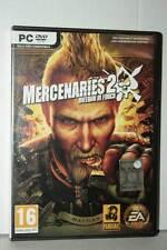 MERCENARIES 2 INFERNO DI FUOCO USATO OTTIMO PC DVD VERSIONE ITALIANA VBC 39288