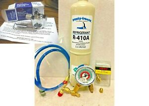 R410, R-410a, Refrigerant, Air Conditioner, LARGE 38 oz., Can Tap, KIT A14