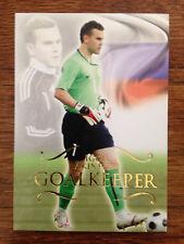 2011 Futera Unique Football Soccer Card Russia AKINFEEV Mint