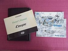 HYUNDAI COUPE (2005 - 2007) OWNERS MANUAL - OWNERS GUIDE - HANDBOOK.(HY 104)