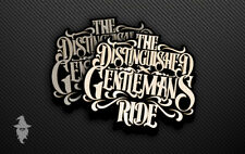 The Distinguished Gentleman's Ride Sticker Set | Cafe Racer | Bobber | Scooter