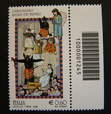 2009 Italia  Sagra Dei Misteri  Campobasso  singolo  con  codice a  barre  1245