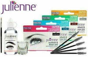 Julienne Professional Eyelash & Eyebrow Dye Tint Lash or Full Kit - All Colors*