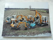 H0004) Hanix excavadoras-retrato familiar-prensa-foto obra-foto pressfoto 03/1995