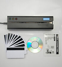 Msr605X Credit Card Reader Writer Swipe Magstripe Stripe Magnetic Encoder Msr206