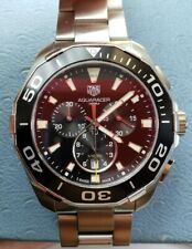 Tag heuer aquaracer CAY111A Black Dial Mens Watch Lowest Price on Ebay