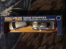 New Show Stoppers 1:24 Mercedes ML320 1.26 scale CLK-GTR / trailer. RARE