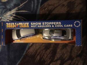 New Show Stoppers 1:24 Mercedes ML320 1.26 scale CLK-GTR / trailer. RARE htf