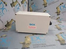 SICK OPTICS ? 50-60 HZ 1 A CONNECTOR ENCLOSURE W/ ADI32096 CIRCUIT BOARD