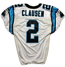 Jimmy Clausen GAME WORN jersey Autographed Notre Dame Game Used Carolina Panther