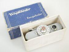 Voigtländer Entfernungsmesser 93/184 Rangefinder Télémétre org. Verpackung boxed