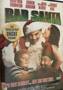 Bad Santa - DVD 🎬Region 4 Free Priority Shipping!⚡️📮VGC💎