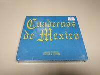 JJ8- CUADERNOS DE MEXICO BOOKLET 60 PAG + 3 CD GERMANY  CD NUEVO PRECINTADO