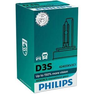 Philips D3S 35W 42V X-tremeVision gen2 Xenon Intense White 42403XV2C1 1 bulb