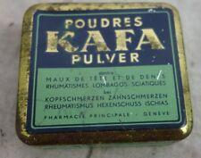 alte Blechdose Kafa Pulver