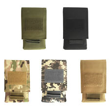 """Universial Outdoor MOLLE 5.5"""" Cell Phone Pouch Holster Belt Bag Case Holder"""