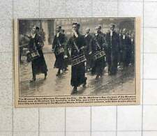 1923 The Bluecoat Band Marching Through The City On St Matthews Day