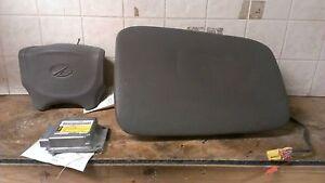02 03 04 Oldsmobile Silhouette Air Bag Set Wheel Dash Module OEM Grey
