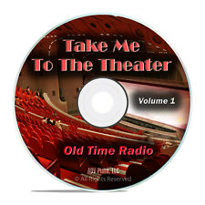 Lets Go To The Theater, 502 Old Time Radio Show Broadcasts, Musical DVD mp3 G56