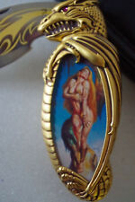 Franklin Mint Knightstone the Warrior Princess Boris Vallejo Knife with Case