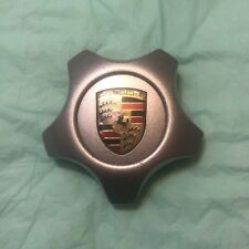 2005-2010 PORSCHE CAYENNE OEM ALLOY WHEEL SILVER CENTER CAP HUB CUP 7L5601149B