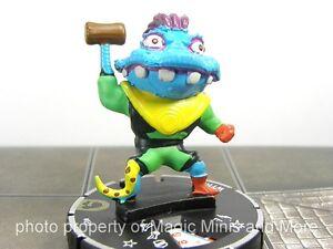 Teenage Mutant Ninja Turtles ~  WYRM #031 HeroClix Set 3 super rare TMNT #31
