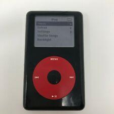 Apple iPod Classic 20GB 4th Generation U2 Special Edition Black/Red