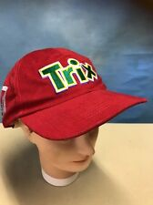 General Mills Cereal Red Trix Rabbit Snapback hat Made In USA