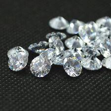 Round Shape 0.70ct Clear Simulated Loose Diamond VVS1-D 5.00mm Each (0.70x1 Pcs)
