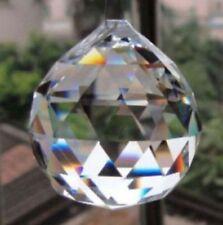 1PCS Crystal Glass Ball Pendulum Lamp Prisms Pendants Rainbows 30mm