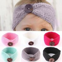 Lovely Baby Girls Toddler Knit Turban Hair Band Headwear Headband Accessories