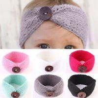 Lovely Baby Girls Toddler Knit Turban Hair Band Headwear Headband Accessories
