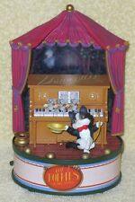 "Animated Music Box Cat Follies Music Hall Enesco ""NO BUSINESS LIKE SHOW BUSINESS"