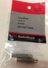 Time-Delay Ceramic #270-0154 By RadioShack New 2 amp 250 volt