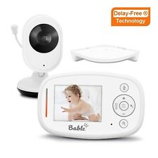 2.4GHz Video Baby Monitor with Camera, X1-Plus with Delay-Free Technology