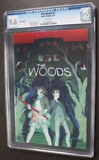THE WOODS #1 Limited Ed 1:25 Duffield VARIANT 2014 BOOM 1st Print UPC TV CGC 9.6