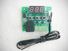 12V Thermostat W1209 -50-100° Temperatur Regler Schalter Sensor Fühler Blitzvers