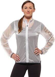 Reebok CrossFit Women's White/Clear Running Jacket (Z64142) UK Size 12-14 B26