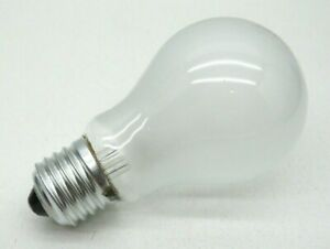 (2-Pack) 75-Watt Rough Service Incandescent A19 Frosted Lamp Light Bulb 75W 110V
