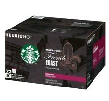 Starbucks French Roast Coffee K-Cups (72 ct.)