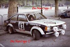 Charles Alberti OPEL KADETT GT/E TOUR DE CORSE RALLY 1978 fotografia 1