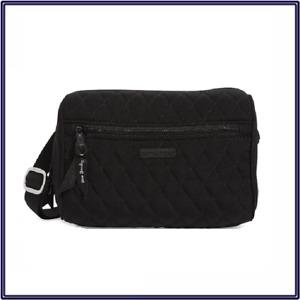 NWT Vera Bradley Belt Bag Waist Fanny Pack in Classic Black Quilted Microfiber