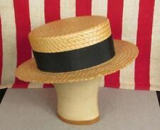 Cappelli vintage da uomo in paglia
