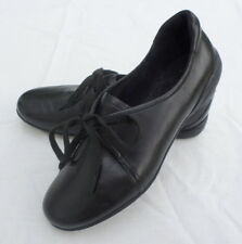 Rockport Shoes Women Size 6 Black Leather Adiprene By Adidas Soft Dance