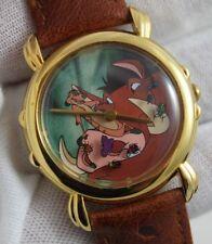 Disney Lion King Timon & Pumbaa Hakuna Matata ARTIST'S PROOF Cast Member Watch