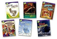 Oxford Reading Tree: Level 11A: TreeTops More Non-Fiction: Pack (6 books, 1 of e