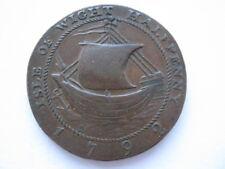Hampshire Newport Halfpenny token 1792 DH46 VF