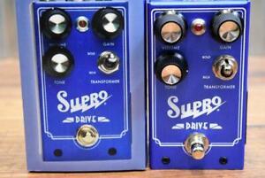 Supro USA 1305 Drive Overdrive Guitar Bass Effect Pedal